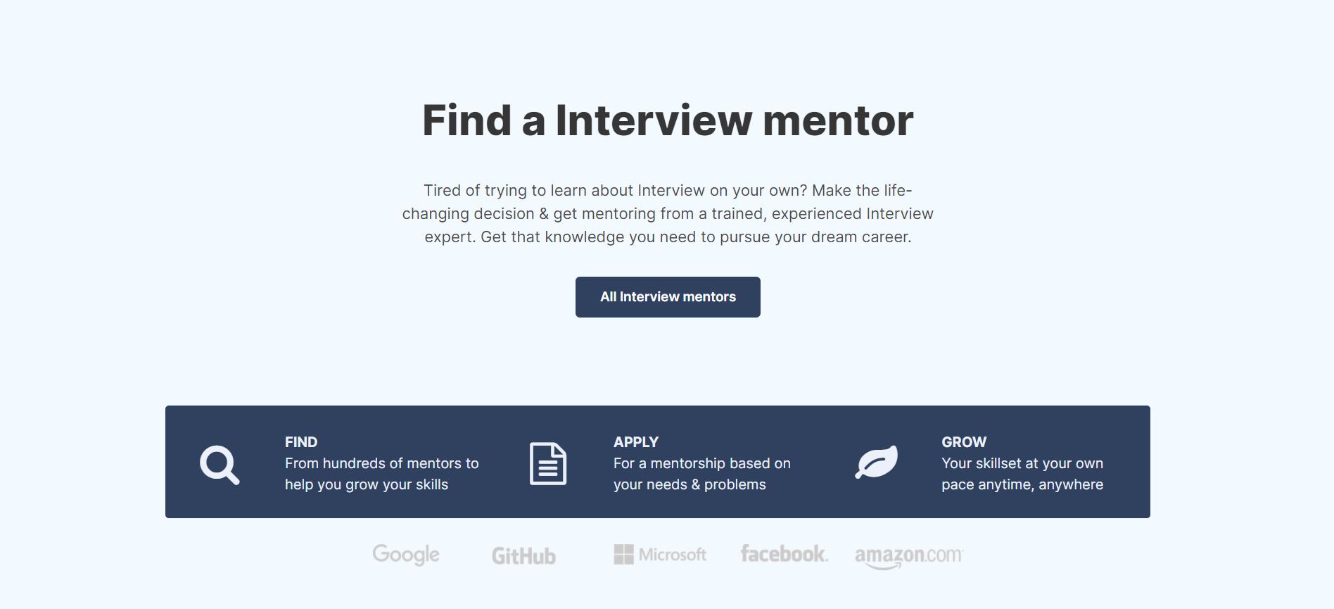 MentorCruise Interview Coach