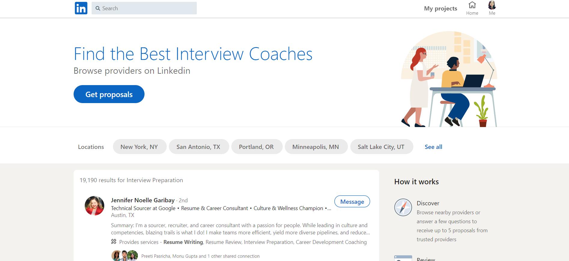 Linkedin Interview